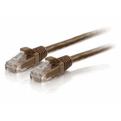 UTP CAT6 patchcable brown 2 meter